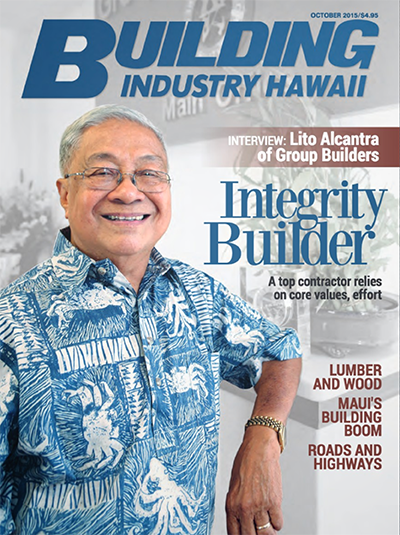 Building Industry Hawaii cover