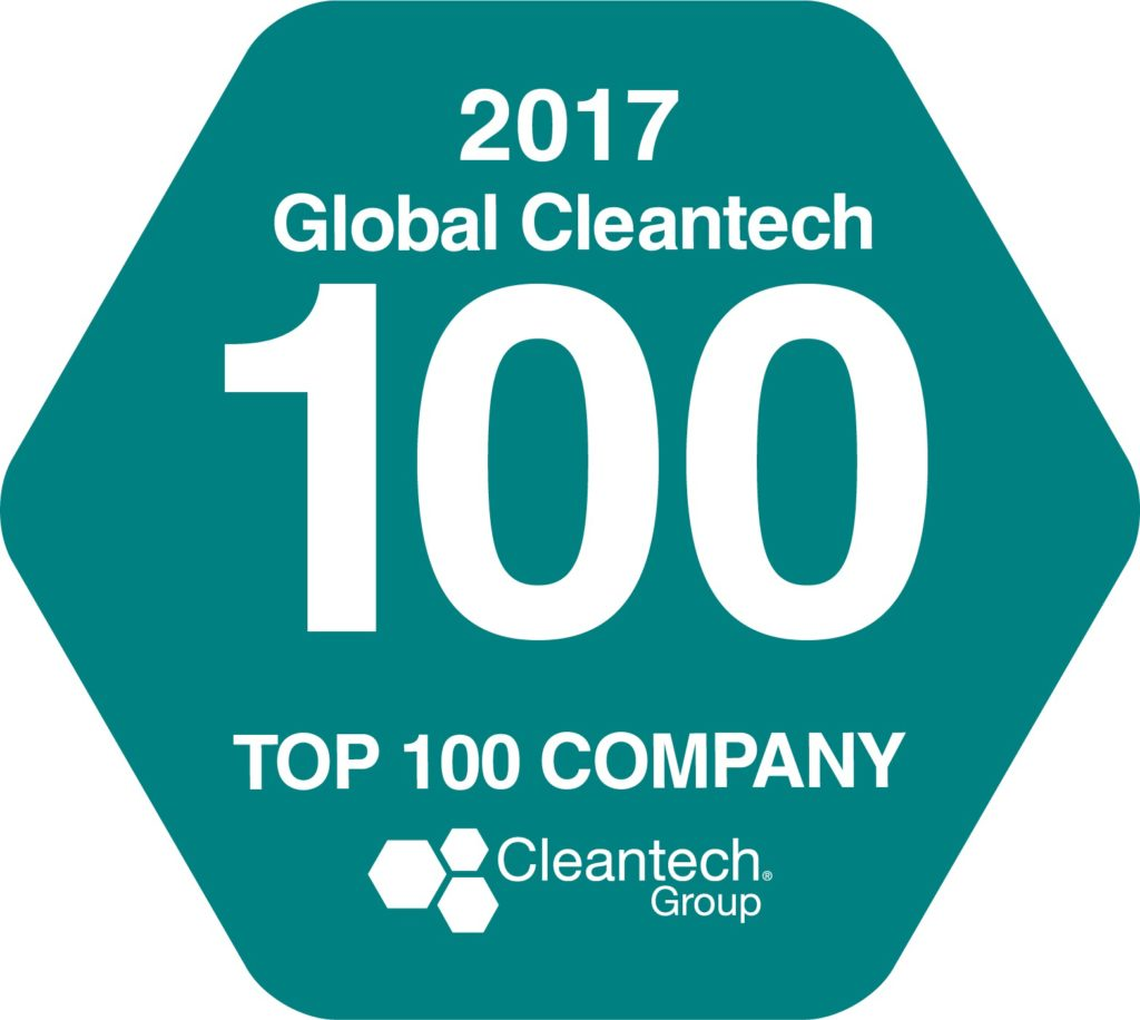 Terralux namedin CLeantech top 100 companies