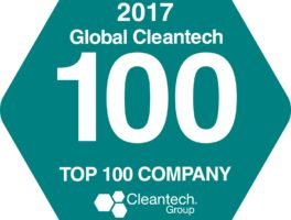 Terralux namedin CLeantech top 100 companies