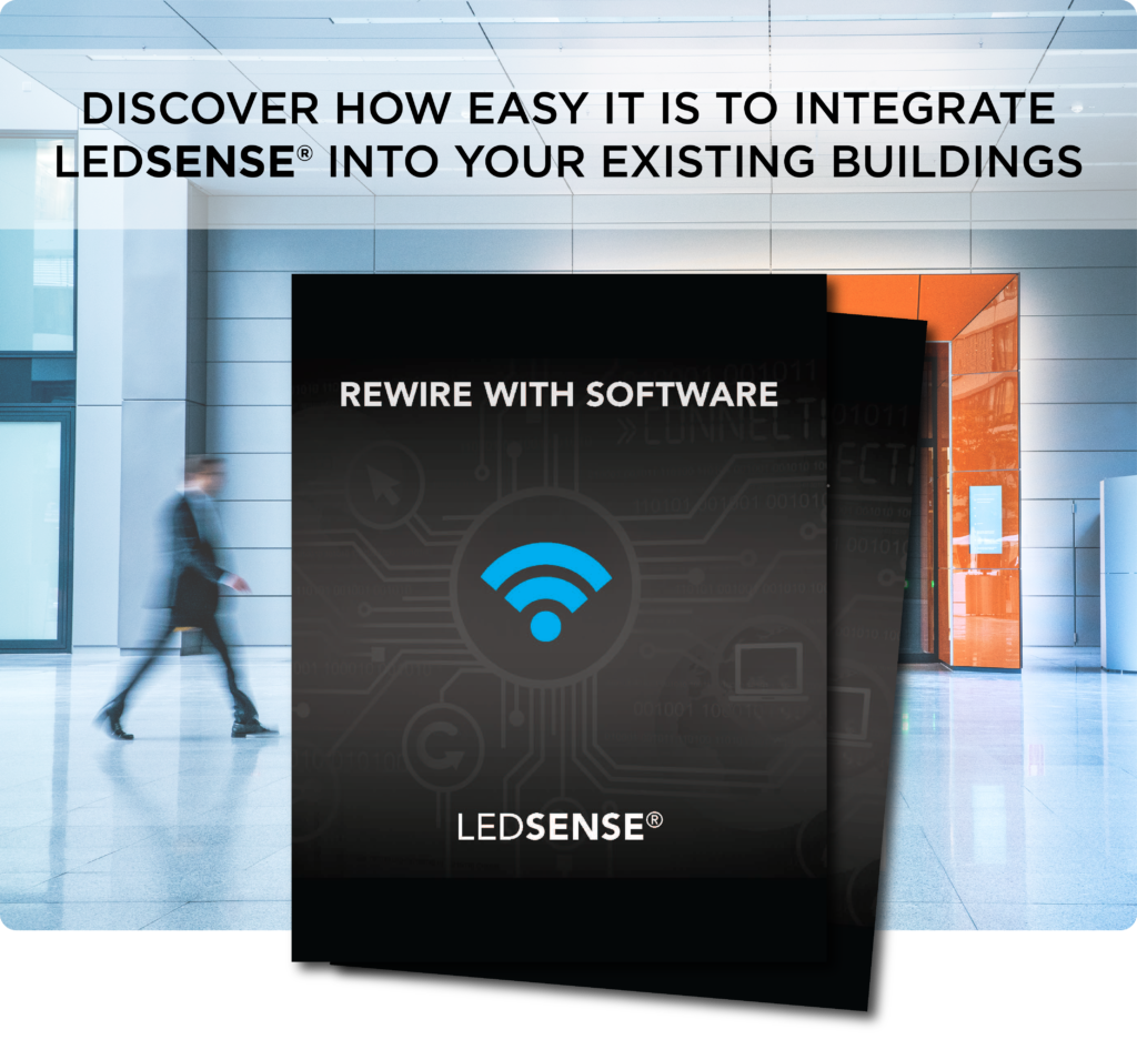 Discover How Easy it is to Integrate LEDSENSE into your current Buildings - Download our IoT platform booklet