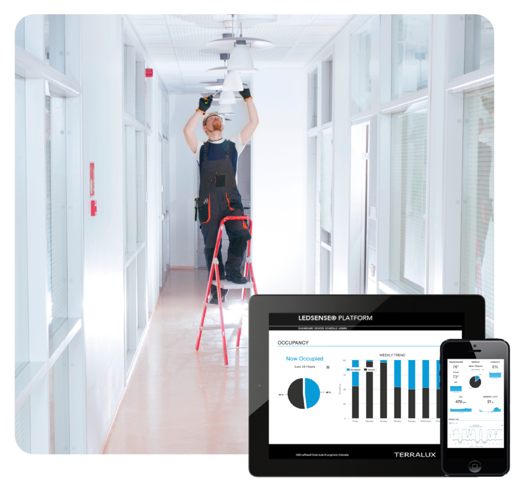 Upgrade to LED with ease using intelligent building solutions LEDSENSE