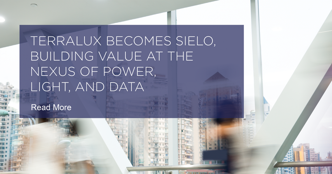 Terralux Becomes Sielo, Building Value at the Nexus of Power, Light, and Data